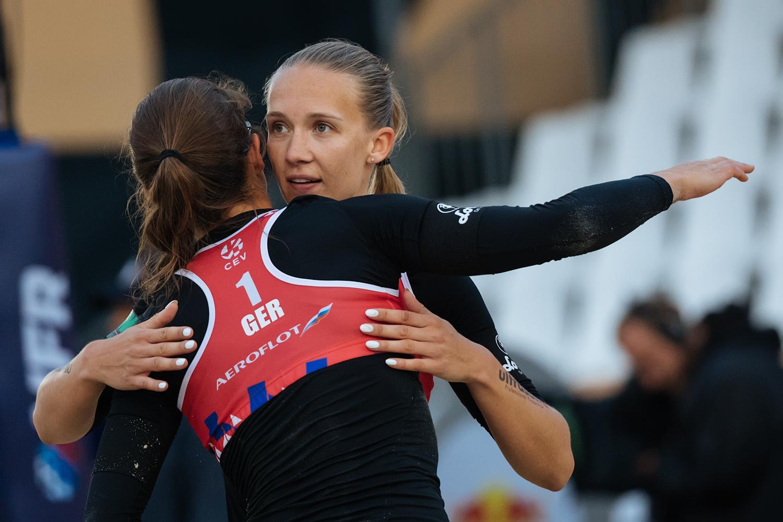 Ittlinger/Laboureur bestes deutsches Team bei Beachvolleyball-EM