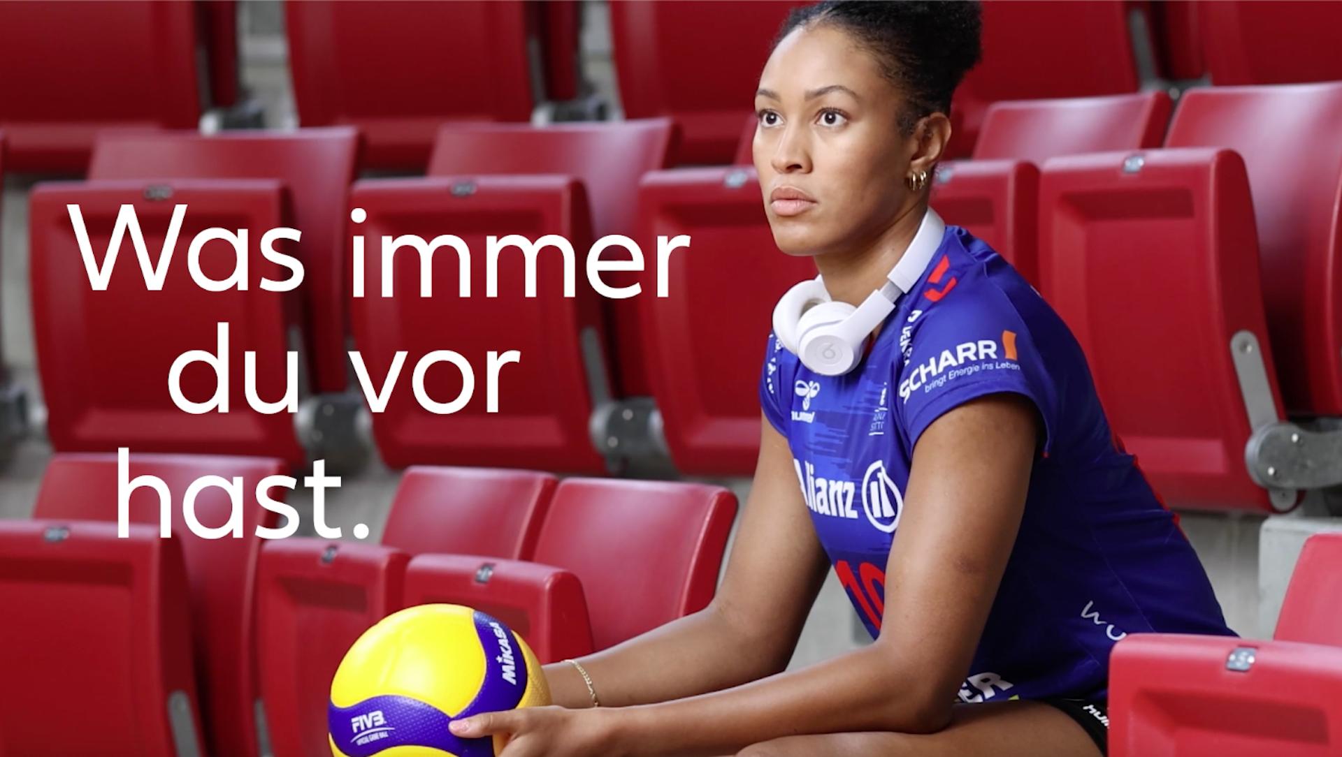 Die neue Allianz Volleyball-Saisonkampagne