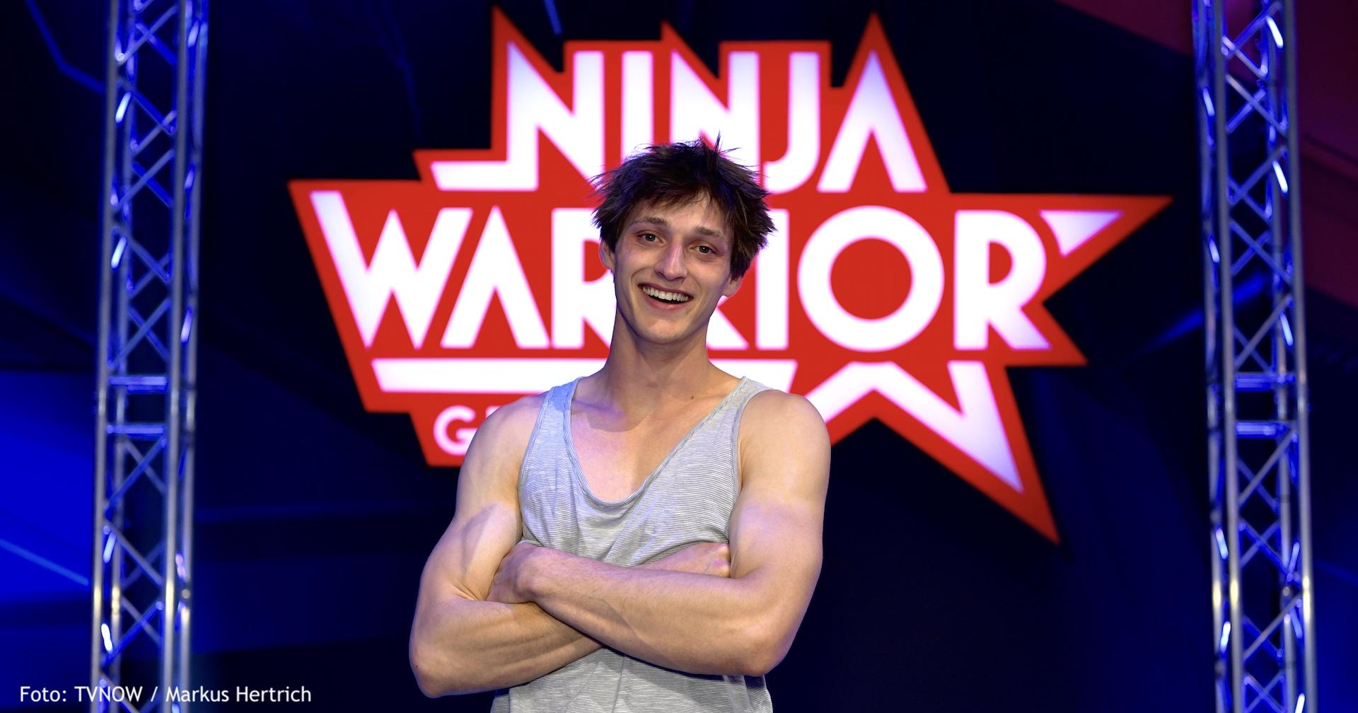 Moritz Hans ist Coach bei RTL Ninja Warrior Kids