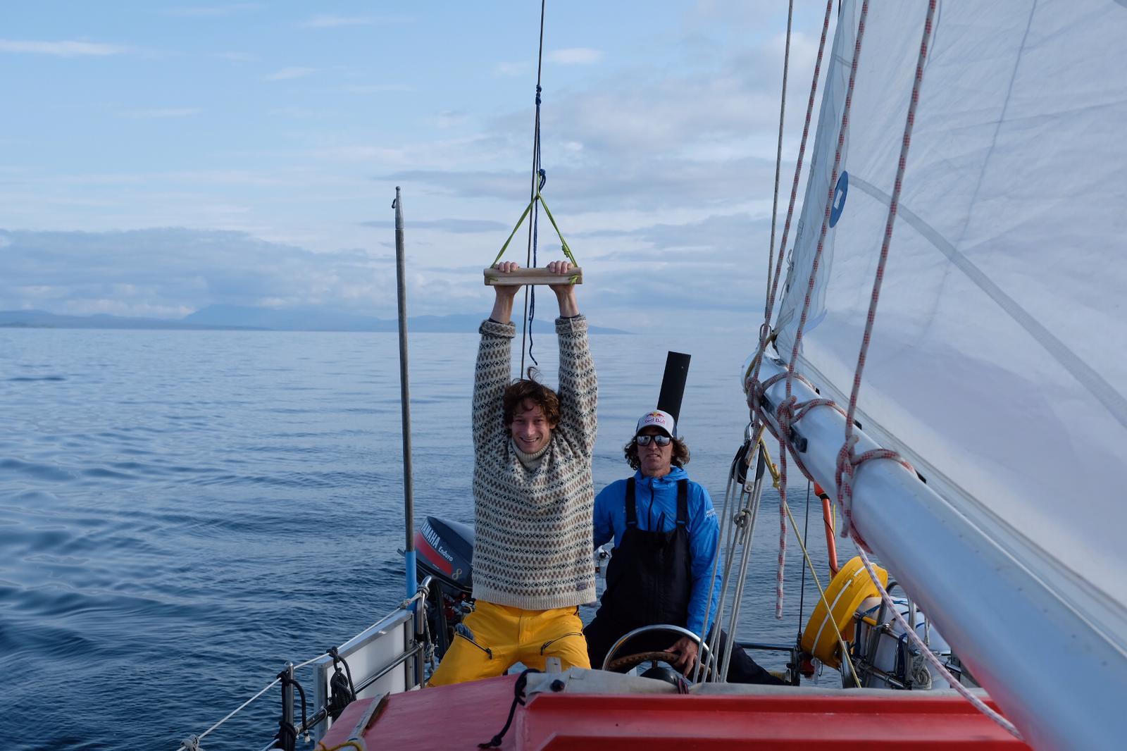 Expedition-Grönland: Philipp Hans erklimmt