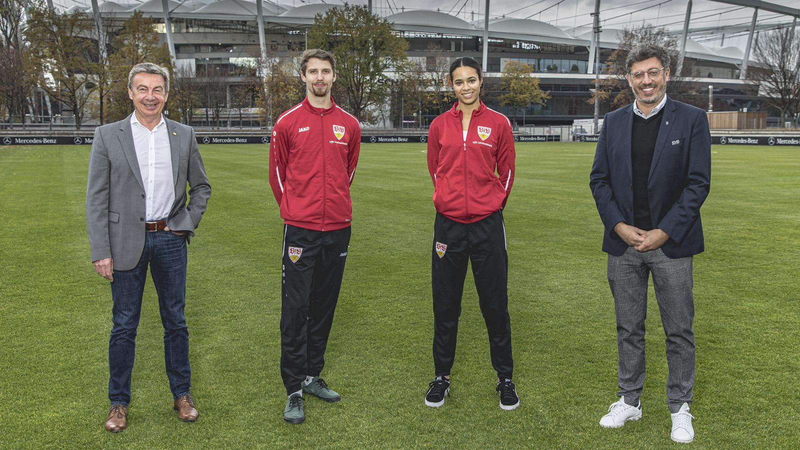Marie-Laurence Jungfleisch verlängert beim VfB Stuttgart