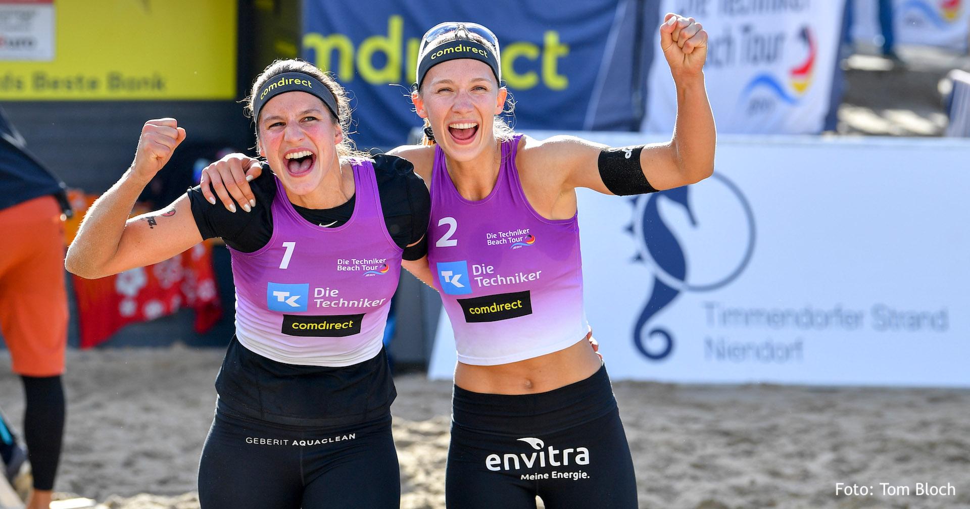 Beach-Duo Ittlinger/Laboureur erreicht K.O. Phase
