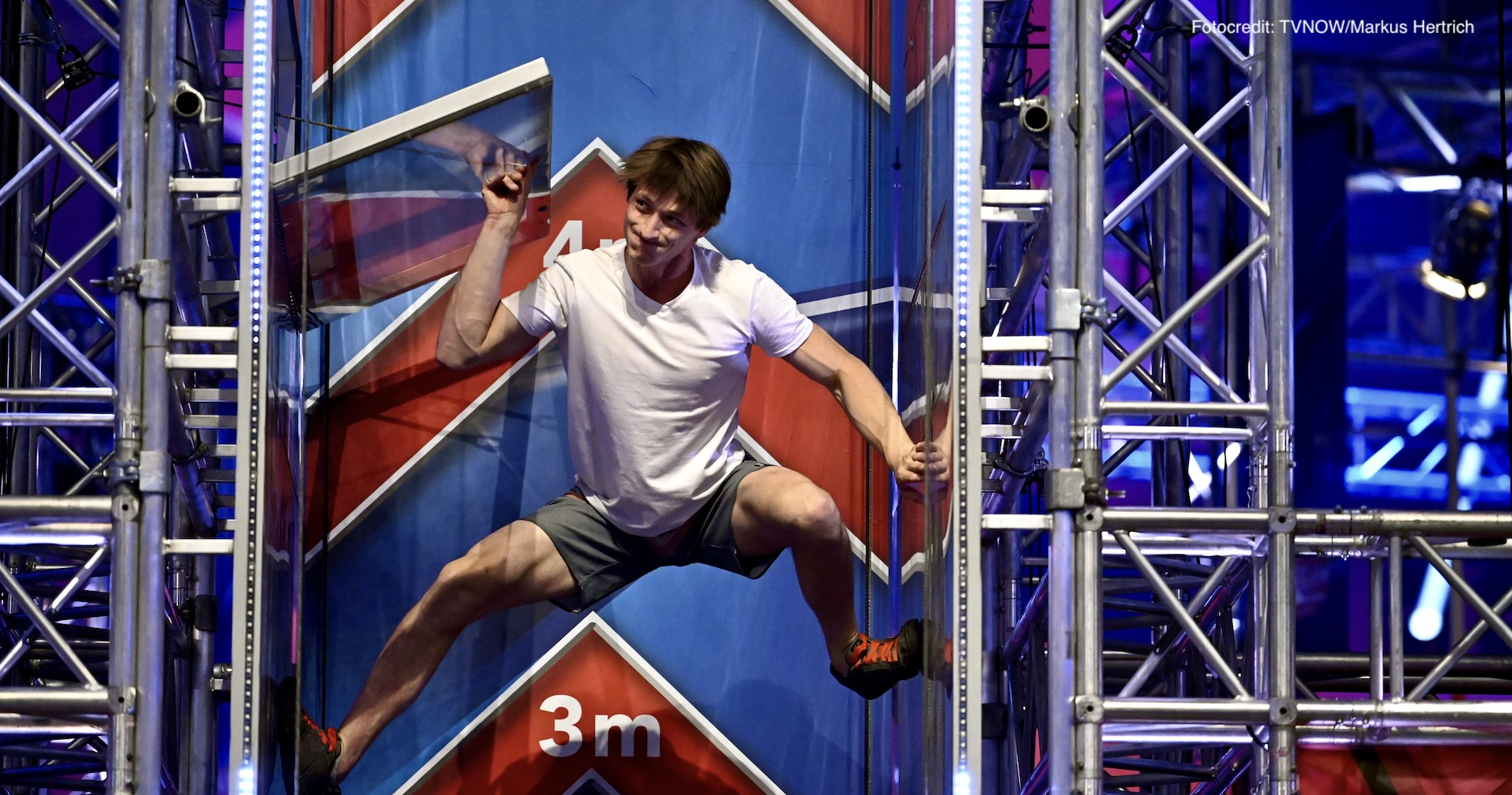 Moritz Hans wird Zweiter bei Ninja Warrior Germany