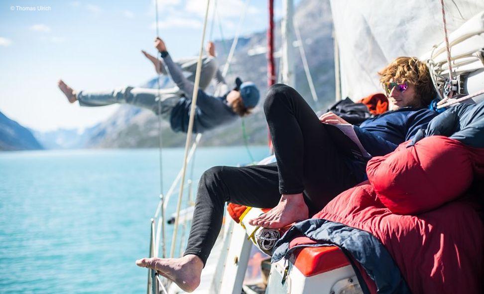 Expedition-Grönland: Philipp Hans auf dem Weg zur